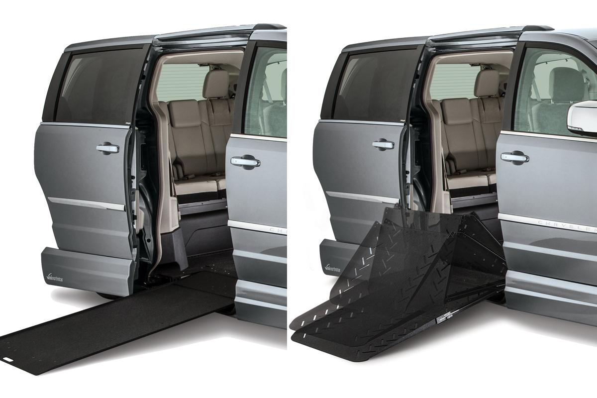Wheelchair-accessible van options