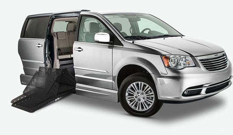 Chrysler Town & Country Summit Wheelchair Vans