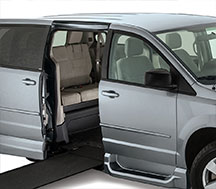 Accommodating Vertical Space in Wheelchair Van