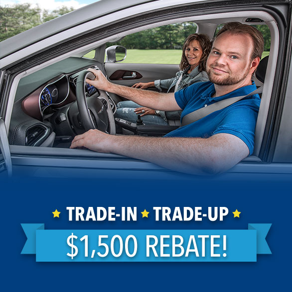 Trade-In Trade-Up $1,500 Rebate