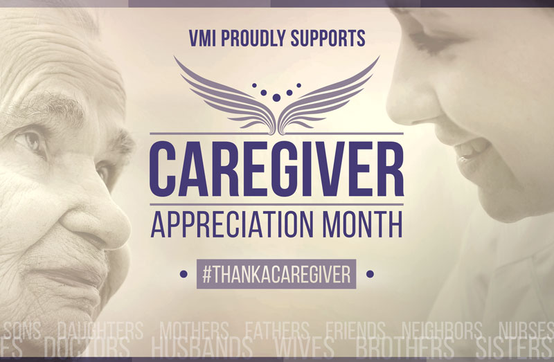 #thankacaregiver this National Caregiver Appreciation Month