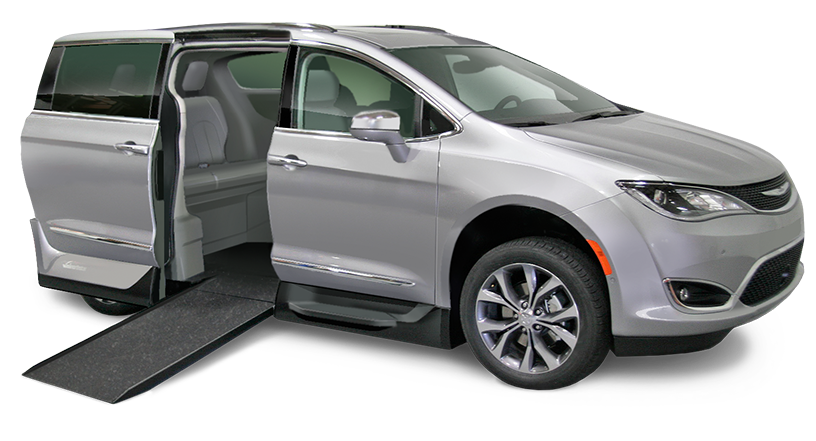 Pacificasilvercar New on Chrysler Town And Country Mobility Vans