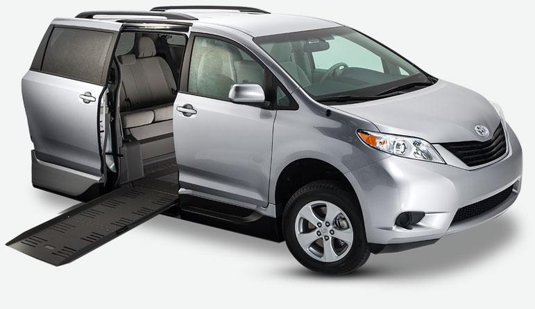 Toyota Sienna Summit Access360 Conversion Van